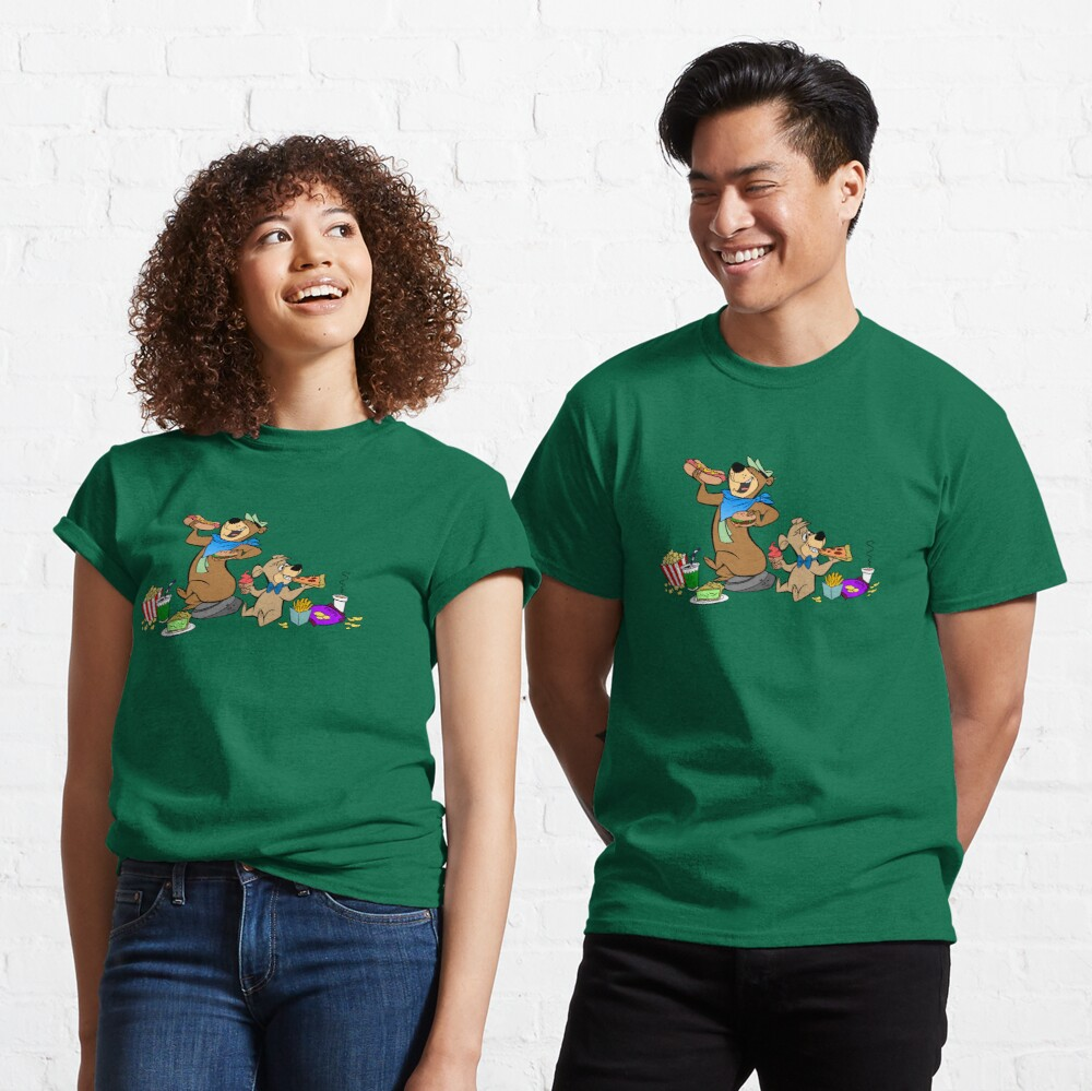 Yogi & Boo-Boo Pic-a-Nic Feast Classic T-Shirt