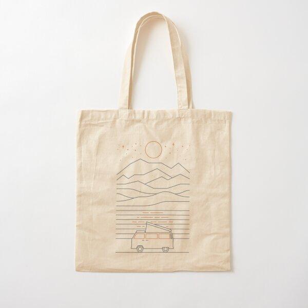 Van Life Cotton Tote Bag