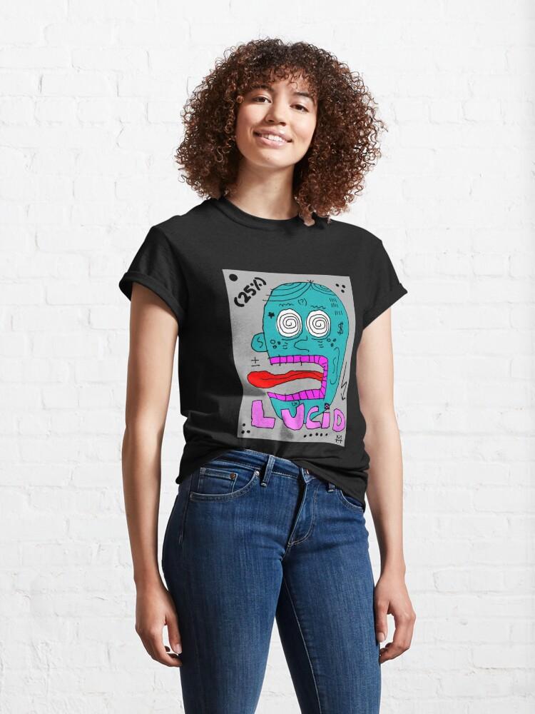 Alternate view of Scykosiz - Lucid Classic T-Shirt