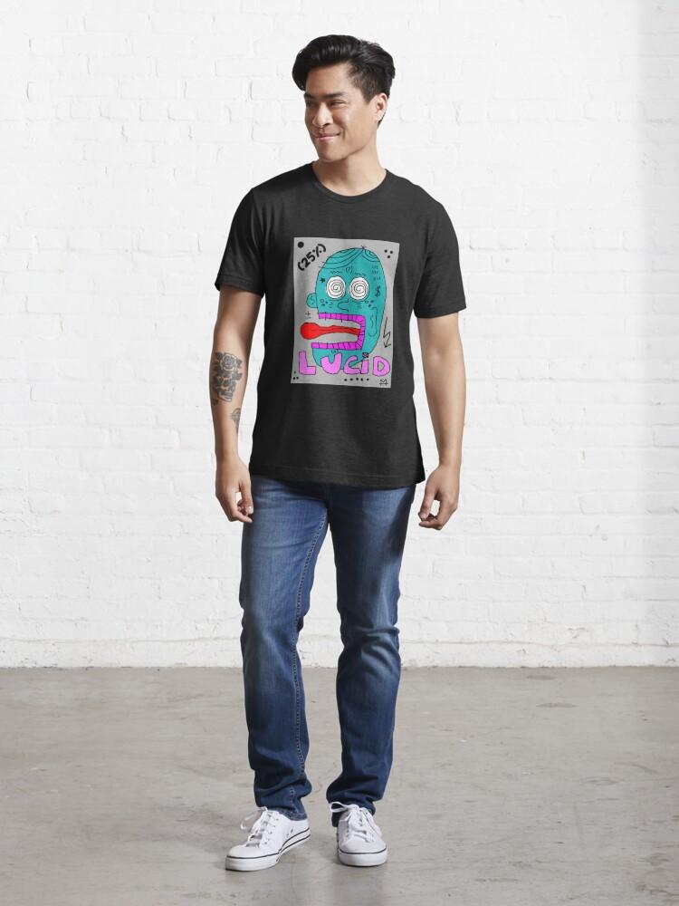 Alternate view of Scykosiz - Lucid Essential T-Shirt