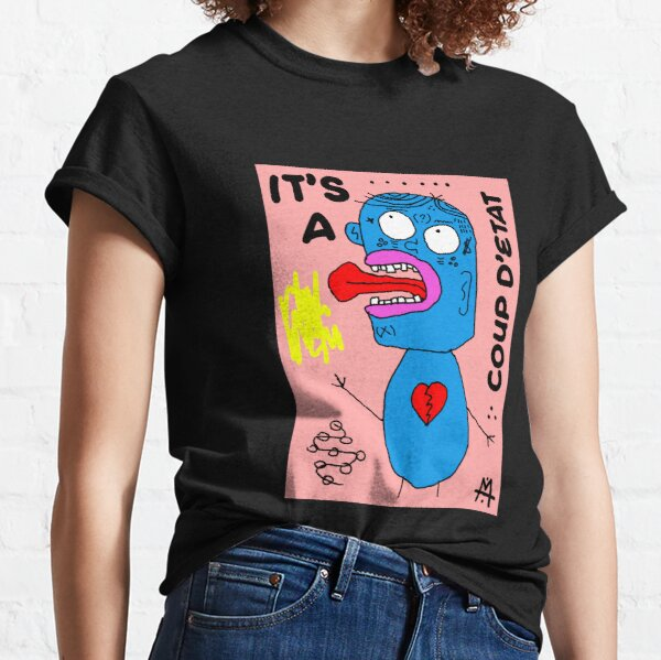 Scykosiz full body coup d'etat Classic T-Shirt