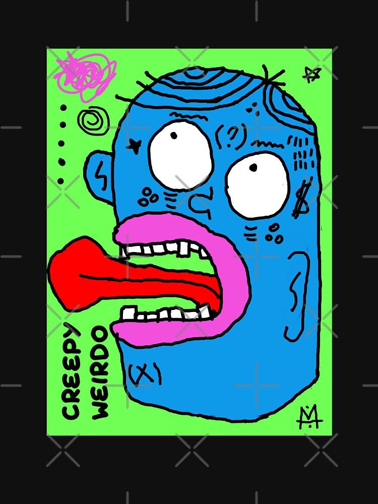 Scykosiz - creepy weirdo by Scykosiz