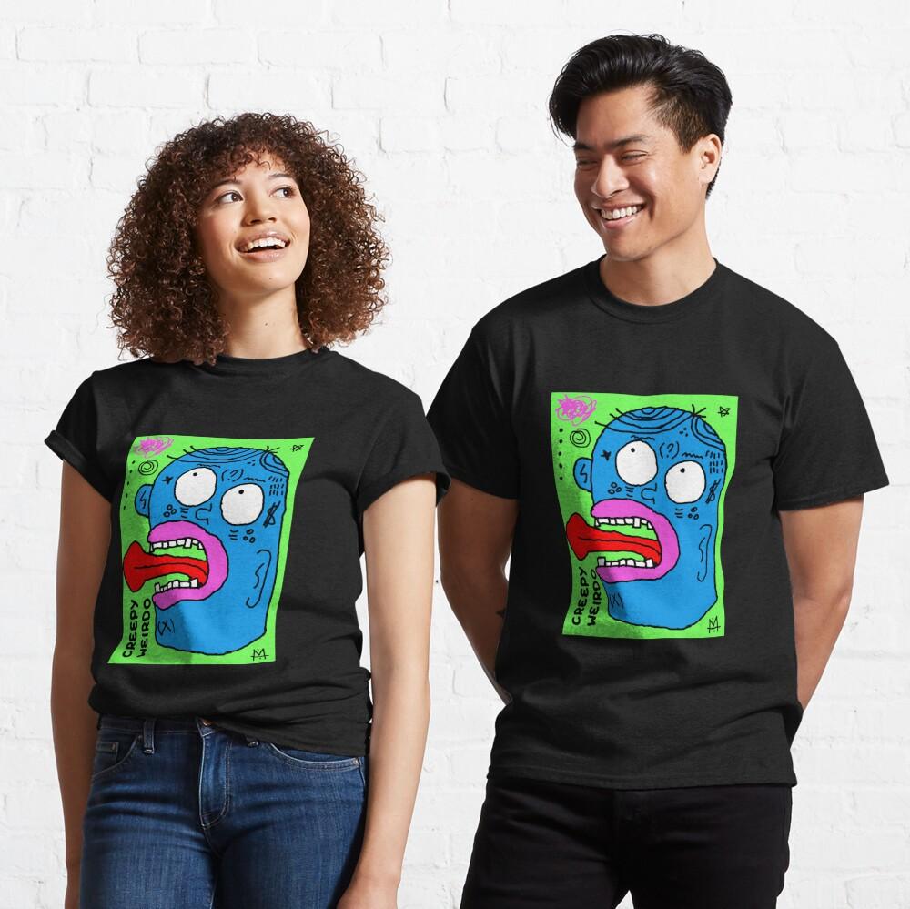 Scykosiz - creepy weirdo Classic T-Shirt