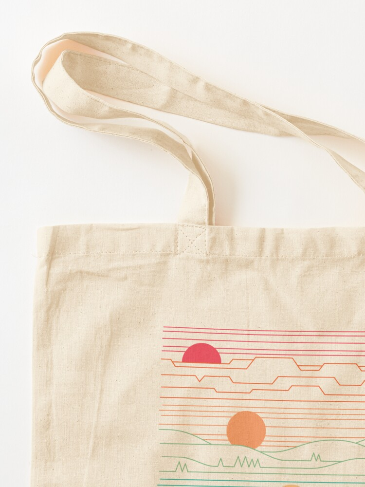Alternate view of Many Lands Under One Sun Tote Bag