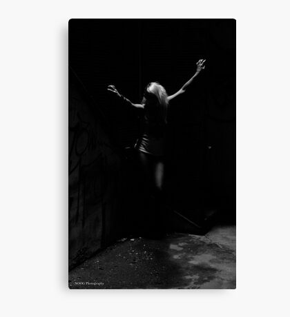 In The Darkness... Canvas Print