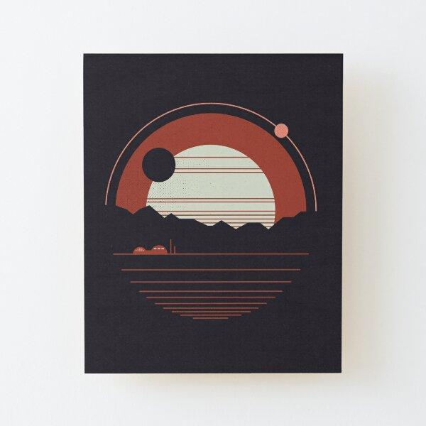 Solitude Wood Mounted Print