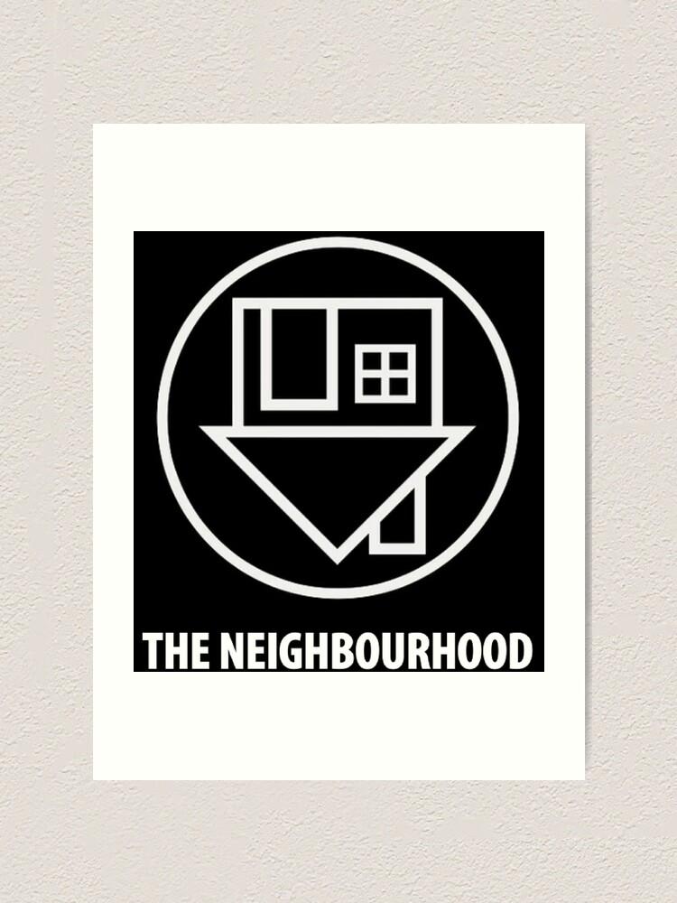 Alternate view of The Neighbourhood Logo Art Print