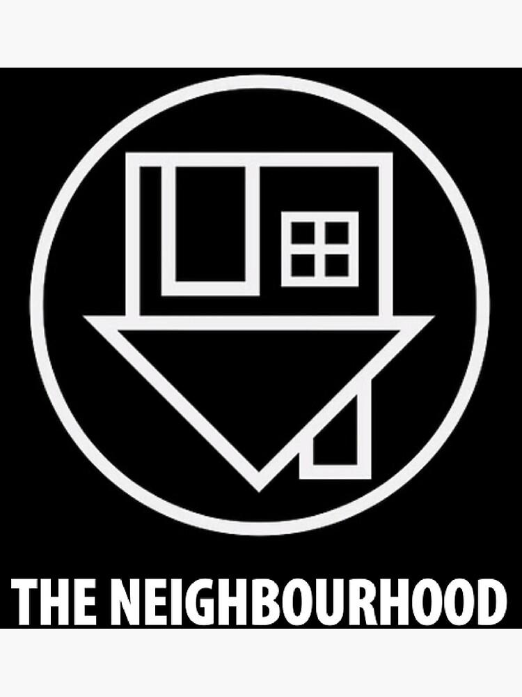 The Neighbourhood Logo by blackmeetswhite