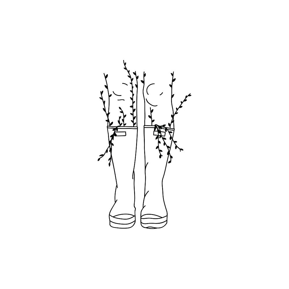 Rainboots Flash by celenastefanie