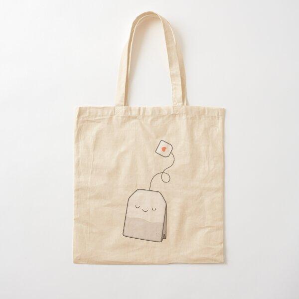 Tea time Cotton Tote Bag