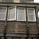 Tudor window at Welsh B&B by BronReid