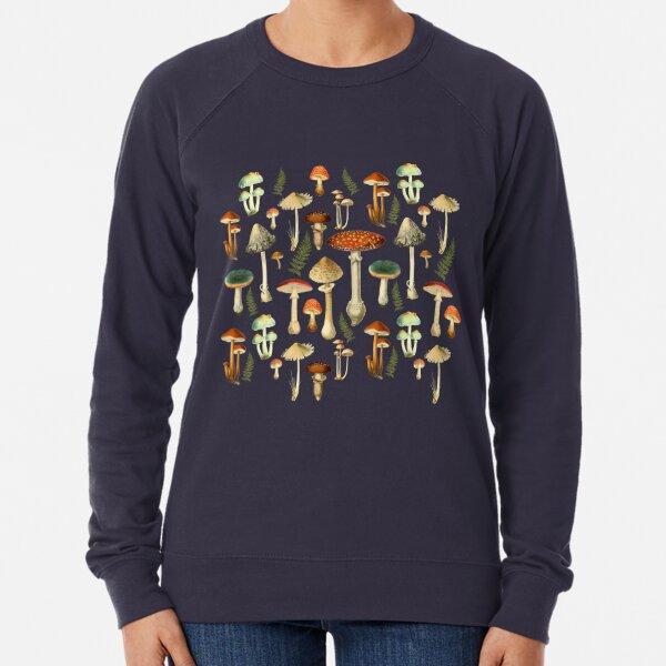 Toadstools Lightweight Sweatshirt
