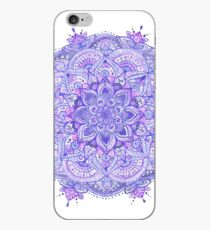 Watercolour Mandala Purple iPhone Case