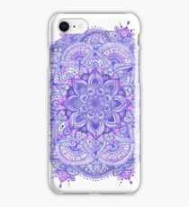 Watercolour Mandala Purple iPhone Case/Skin