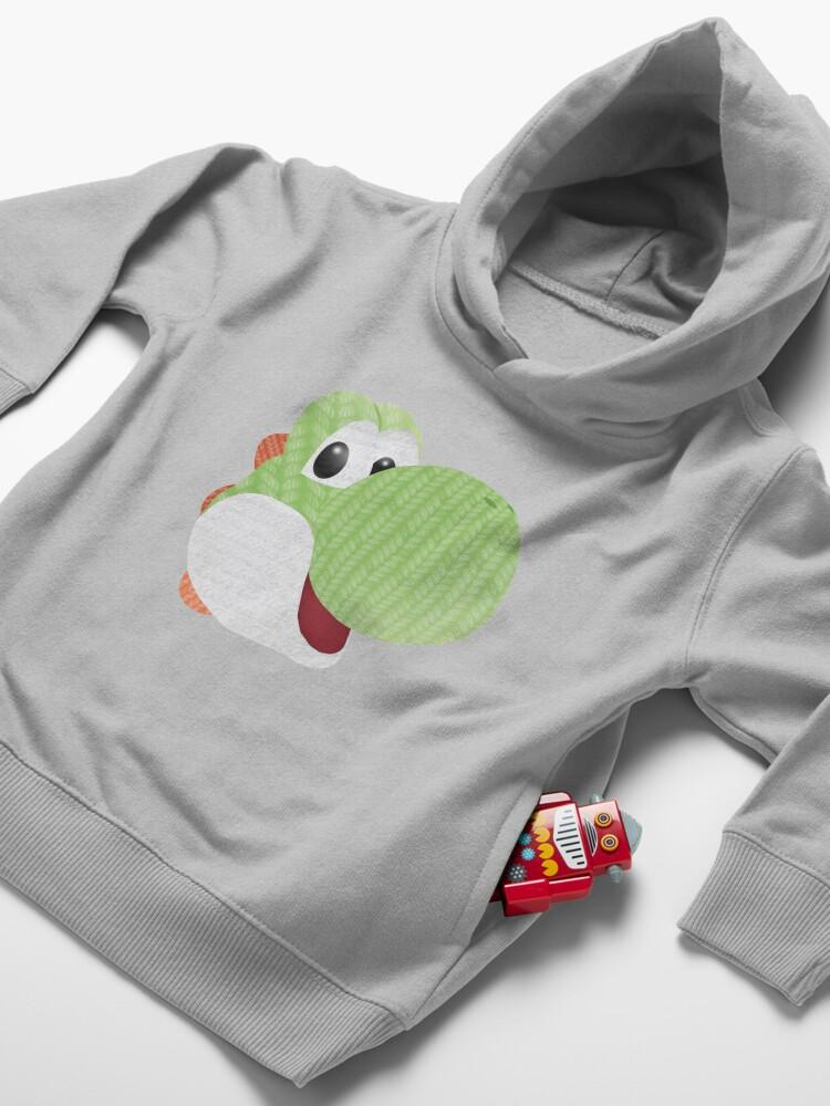 Alternate view of Yarn Yoshi Toddler Pullover Hoodie