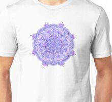Watercolour Mandala Purple Unisex T-Shirt