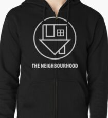 The Neighbourhood Logo Zipped Hoodie