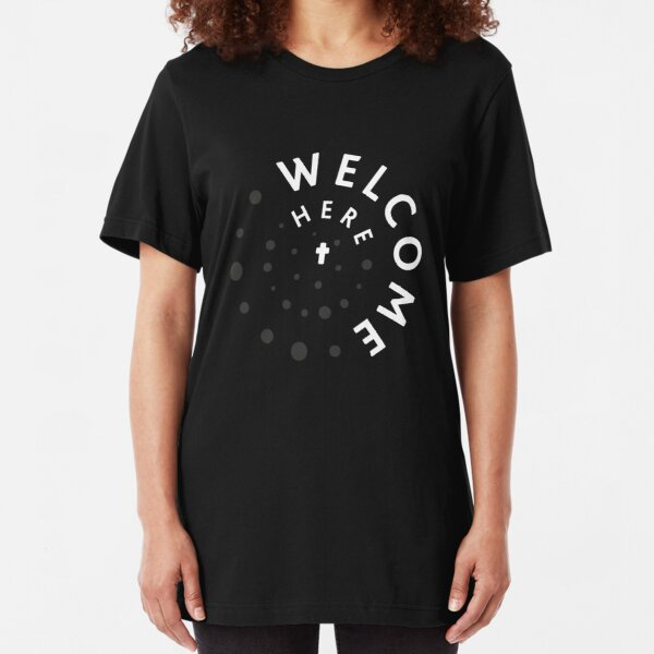 Welcome Here Slim Fit T-Shirt