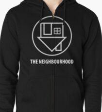 The Neighbourhood I Love You Logo Zipped Hoodie