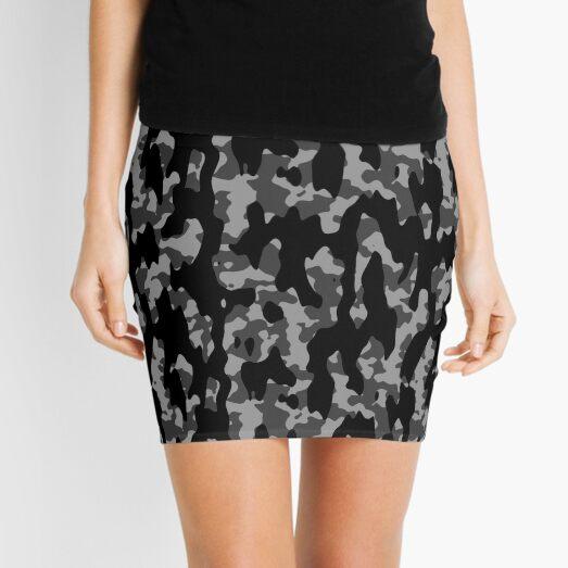Dark Camo Mini Skirt