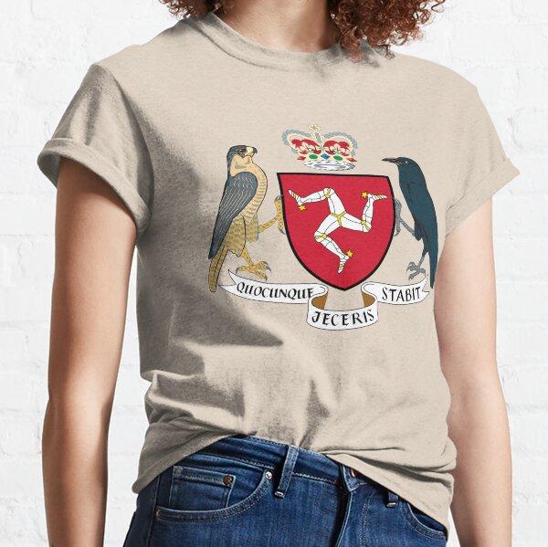 Isle of Man Coat of Arms Classic T-Shirt