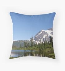 """Reflected Beauty"" Throw Pillow"