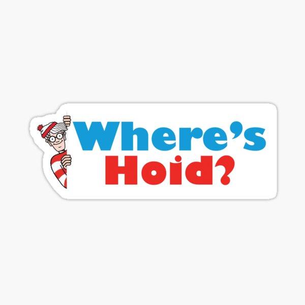 ¿Dónde está Hoid? Pegatina