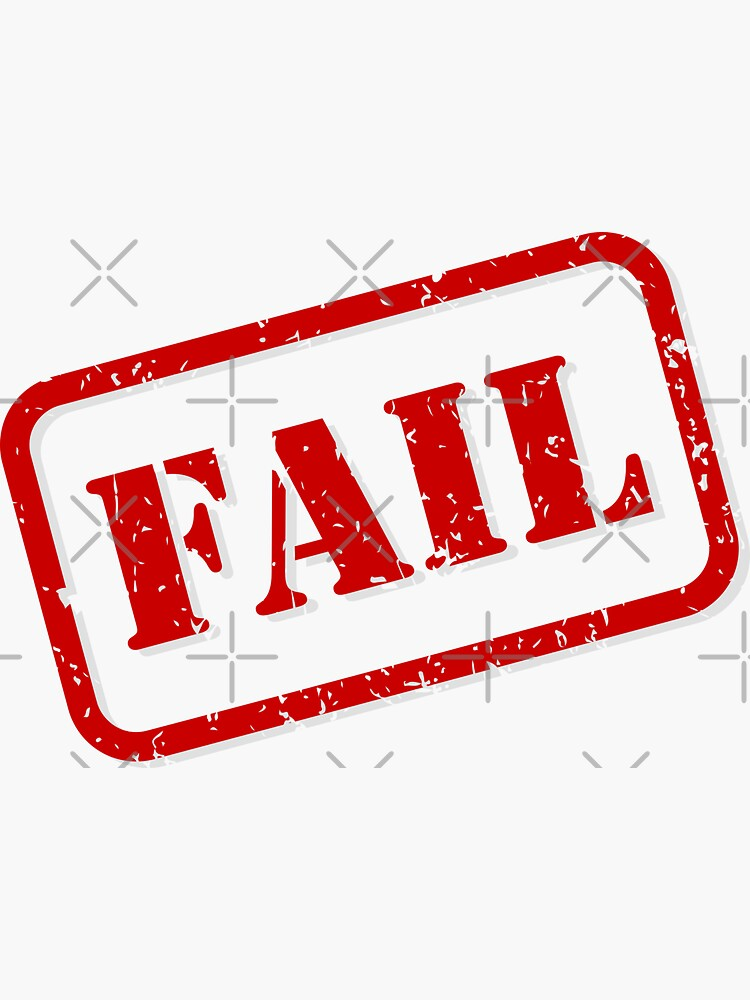 Fail stamp by THPStock
