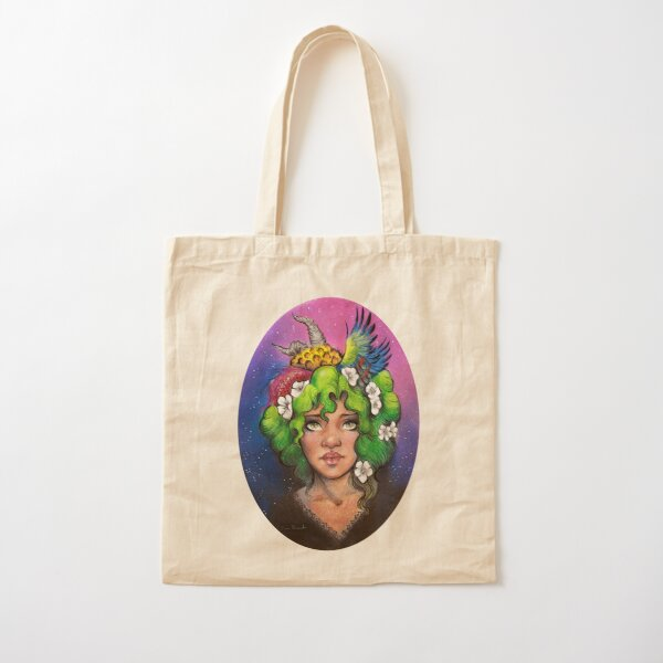 Bitter Earth Cotton Tote Bag