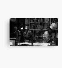 Mise En Place - Kitchen Reflections Canvas Print