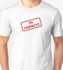 No comment stamp Slim Fit T-Shirt