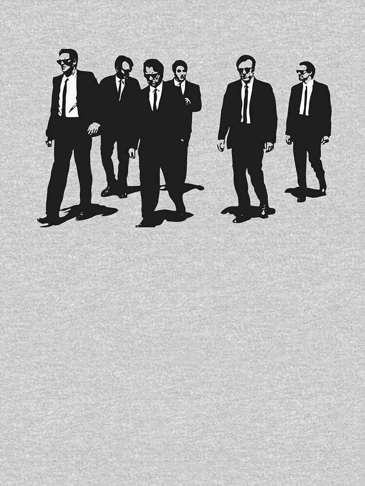 Original Reservoir Dogs Movie Artwork for Prints Tshirts Posters Bags Men Women by clothorama