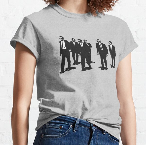 Original Reservoir Dogs Movie Artwork para impresiones Camisetas Carteras Bolsos Hombres Mujeres Camiseta clásica