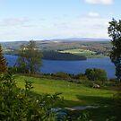 view across Loch Ness by BronReid