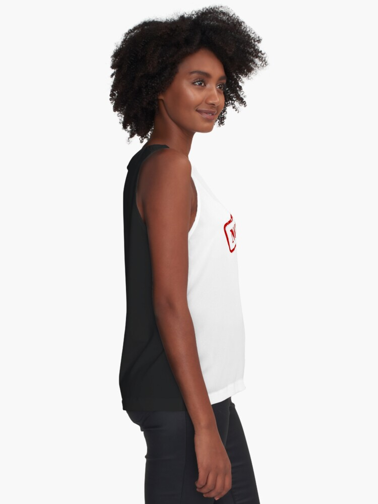 Alternate view of No limits stamp Sleeveless Top