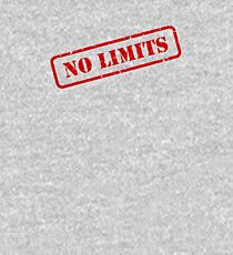 No limits stamp Kids Pullover Hoodie
