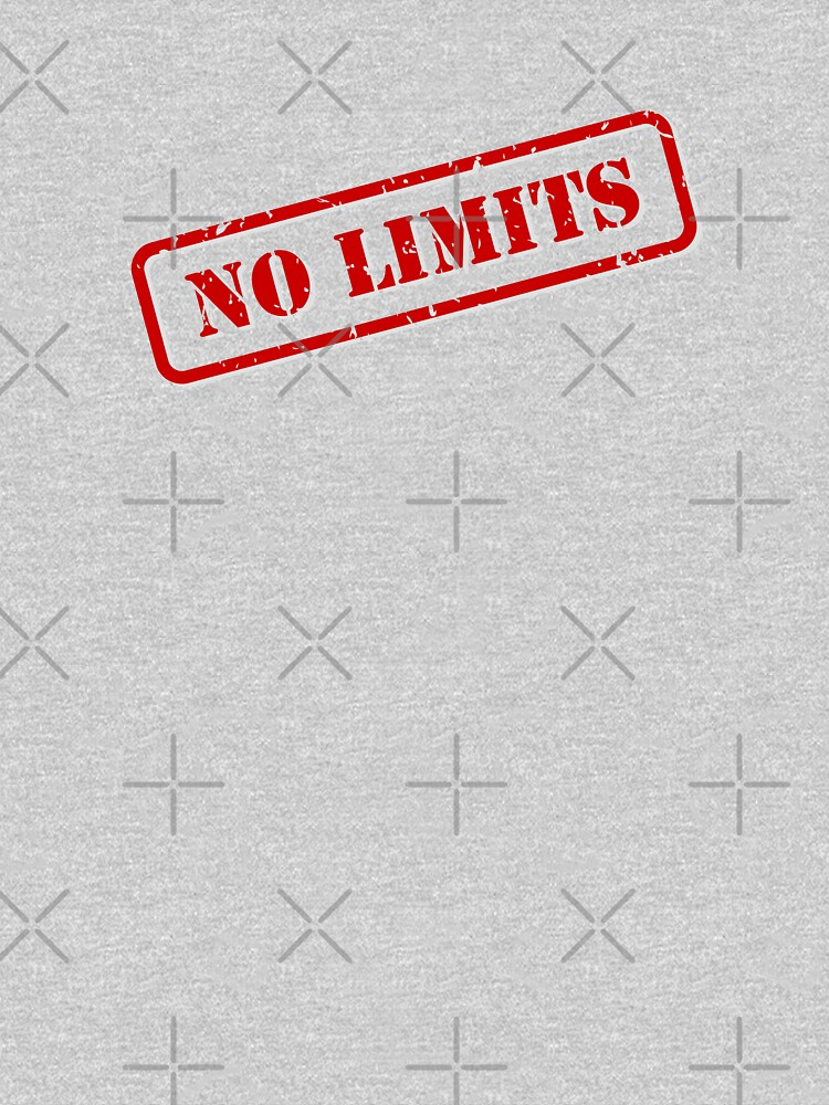 No limits stamp by THPStock