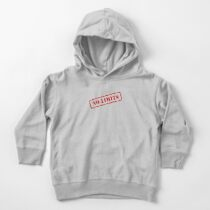No limits stamp Toddler Pullover Hoodie