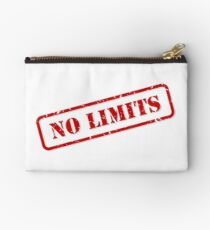 No limits stamp Zipper Pouch