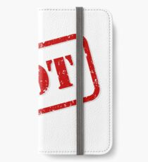 Not stamp iPhone Wallet/Case/Skin