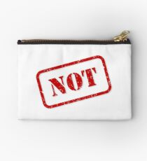 Not stamp Zipper Pouch