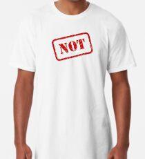 Not stamp Long T-Shirt