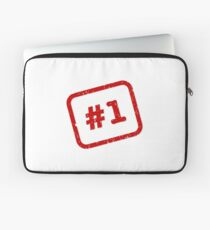 Number 1 Stamp Laptop Sleeve