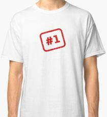 Number 1 Stamp Classic T-Shirt