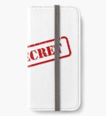 Top secret stamp iPhone Wallet/Case/Skin