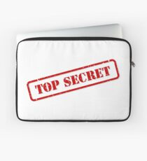 Top secret stamp Laptop Sleeve