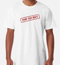 Top secret stamp Long T-Shirt