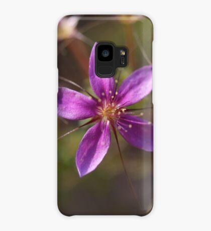 Purple Calytrix Case/Skin for Samsung Galaxy