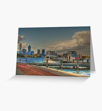 THE OLD BREWERY JETTY-173 Mounts Bay Road – Crawley Greeting Card