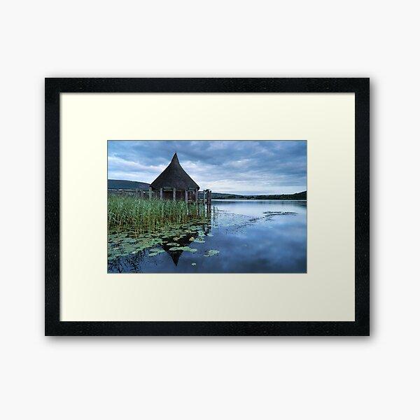 LLANGORSE BLUES Framed Art Print